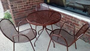 Smith Hawken 4 Outdoor Tables And 12 Chairs patio Furniture
