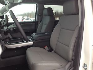2014 2017 Gmc Crew Cab Katzkin Gray Dark Ash Leather Kit Sle Sierra New