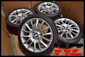 18 Bmw 3 Series E90 Wheels Rims With Tires Oem 8036931 8036932 59576 59577