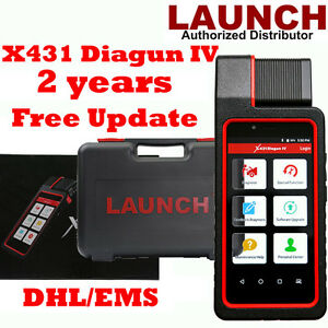 Launch X431 Diagun Iv Full System Diagnostic Scanner Wifi Bt 2 Yrs Free Update