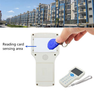 10 Frequency Rfid Copy Encrypted Nfc Smart Id ic Card Reader Writer W Keyfbob