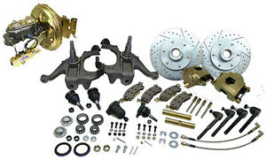 1967 70 Chevy Gmc Truck C10 Front Disc Brake Conversion Kit 6 Lug Stock Height