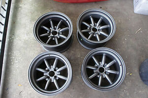 Jdm 15 Mx5 Mx 5 Miata Eunos Pcd100x4 Civic Integra Banana Wheels Rims Watanabe