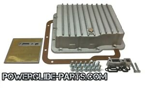 Powerglide Aluminum Deep Transmission Pan Complete W Gasket Filter