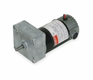 Dayton Model 1lpv9 Dc Gear Motor 7 Rpm 1 30 Hp 90vdc 4z534