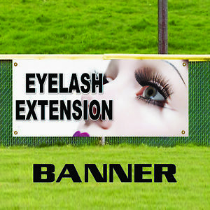 Eyelash Extension Advertising Vinyl Banner Sign Beauty Salon Retail Store