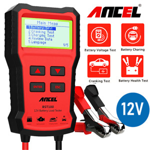 Car Battery Load Tester 12v Auto Vehicle Analyzer 100 1100cca Foxwell Bt100 Pro