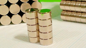 10 Large Neodymium N52 Disk Magnets New Super Strong Rare Earth 1 2 X 3 16