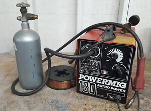 Astro Power Powermig 130 Corded Portable Mig Welder 130 Amp 115v