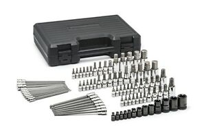 Gearwrench 84 Piece Sae metric Hex And Torx Bit Socket Set Part Kd 80742