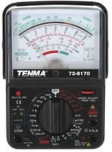 Tenma 72 8170 Multimeter Analog 6 Functions