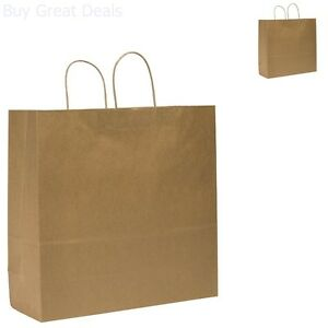 Duro Downtowner Extra Large Shopping Bag Kraft Paper 6x16x19 1 4in 200 Ct