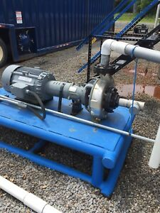 Centrifugal Pump 4 Stainless 30hp Motor