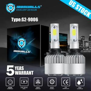 Cree 9006 Hb4 Led Headlight 1300w 195000lm Kit White Car Light Bulbs 6500k Lamps