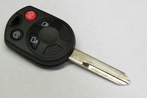 New Oem Ford Remote Uncut Keyless Entry Transmitter Head Key Ignition 40 Bit Fob