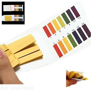 Wowlife Blood Test Strips 480 Pcs Ph 1 14 Test Strips Ph Test Paper Litmus Water