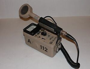 Ludlum Measurements Inc Geiger Meter Model 3 44 9 Pancake Radiation Detector