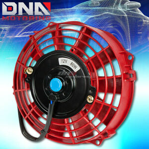 Universal 7 High Performance Electric Radiator Cooling Fan Assembly Kit