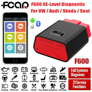 For Vw Full System Obd2 Auto Abs Srs Engine Diagnostic Scanner Tpms Code Reader