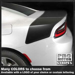 Dodge Charger 2015 2018 Daytona Style Rear Stripes Decals Choose Color