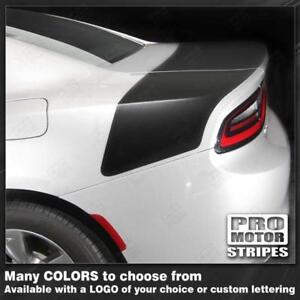 Dodge Charger 2015 2019 Daytona Style Rear Stripes Decals Choose Color