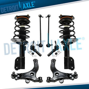 8pc Complete Front Quick Install Strut Kit For Grand Prix W 16 And 17 Wheels