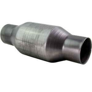2 5 Inlet Out Universal Catalytic Converter Three Way High Flow Performance Cat