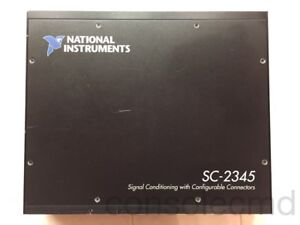 Ni National Instruments Sc 2345 Scc Shielded Carrier Enclosure W Scc pwr02