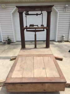 Vintage Fairbanks Flush Platform Scale