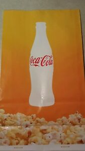200 New Coca Cola Popcorn Bags 105 Oz