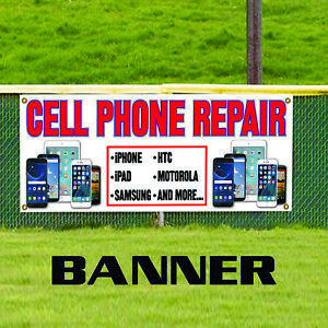 Cell Phone Repair Iphone Samsung Ipad Store Advertising Vinyl Banner Sign
