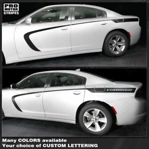 Dodge Charger 2011 2019 Side Accent Stripes Decals Choose Color