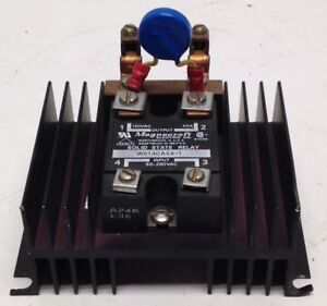 Magnecraft Electric Company W6140asx 1 Solid State Relay W Aluminum Heat Sink