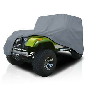 csc Waterproof Full Suv Car Cover For Jeep Wrangler 2 door Yj 1987 1995