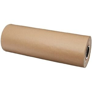 Brown Kraft Postal Packaging Paper Roll Wrapping Sheets 24 Inch 1200 Ft New No