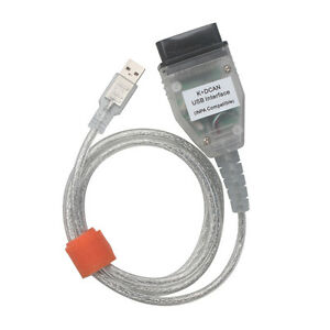 D Can Obd2 Usb Interface Cable For Bmw Inpa Ediabas Ncs Expert Ftdi Ft232rl
