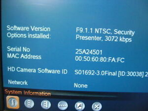 Tandberg 8000 Mxp Hd Video Conference F9 1 Presenter 3mb Ttc6 08
