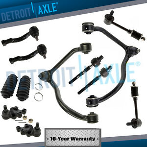 New 12pc Complete Front Suspension Kit Control Arms For 2003 2004 Kia Sorento