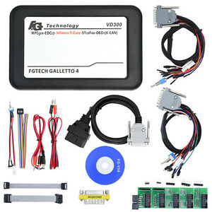 Newest Vd300 V54 Fgtech Galletto 4 Master Bdm tricore obd Fg Tech Ecu Programmer