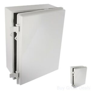 New Bud Nema Box Plastic Solid Door Lockable Electrical Enclosure 15 7x11 7x6 3