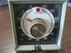 Eagle Signal Hp511a6 Hour Timer 0 To 60 Hours Hp511a6 0116 No Case