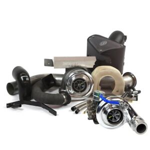 Industrial Injection Towing Compound Turbo Kit For Dodge Cummins 07 5 12 6 7l