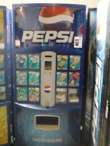 Pepsi Cola Vending Machine Royal Vendors 768 12 Melin Iv Refurb 12 16