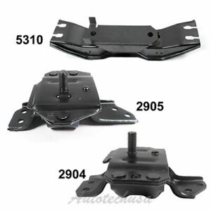 Engine Motor Trans Mount Set M1190 For 99 04 Ford Mustang 3 8l 2904 2905 5310