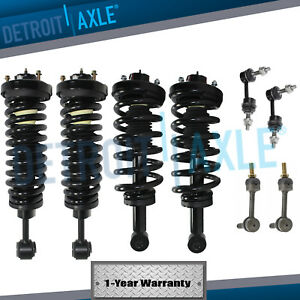 8pc Front Rear Strut Sway Link 2003 2004 2005 Ford Expedition Lincoln Navigator