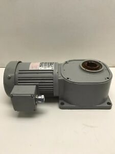 Fs35n030 bml4a Brother Right Angle Hollow Bore flange Mount Gear Motor 7852