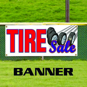 Tire Sale Auto Body Shop Car Truck Suv Repair Retail Store Vinyl Banner Sign