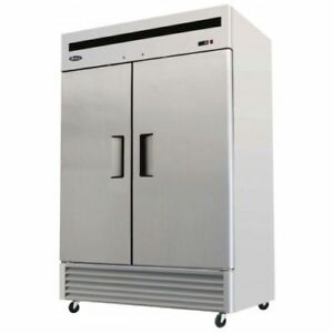 Atosa Mbf8503 54 Reach In Freezer 2 Door Stainless Reach In Freezer Freeze