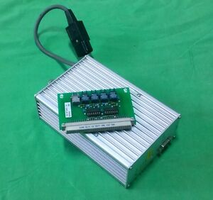 Isel Stepping motor Controller 1 6a W Ek 8734a Optical Interface Board 2265