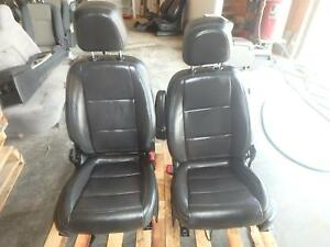 15 17 Buick Encore Front Seat Black Leather Power Oem